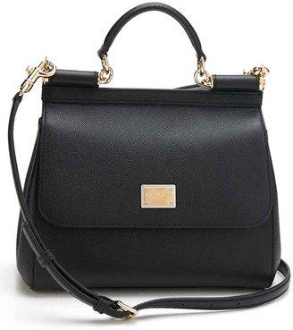 39f865b73 Dolce & Gabbana Black Metallic Leather Handbags - ShopStyle