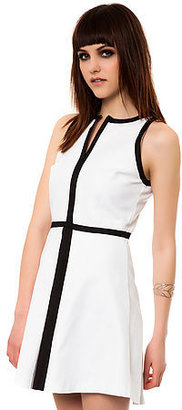 BB Dakota The Derry Dress in Optic White