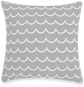 Kate Spade Candy Shop Stripe Waves Square Toss Pillow