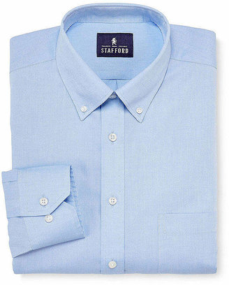 Stafford Executive Non-Iron Cotton Pinpoint Oxford Shirt