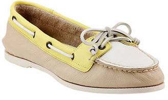 Sperry Audrey Leather Slip-On Boat Shoes
