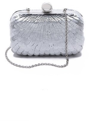 Santi Sequined Box Clutch