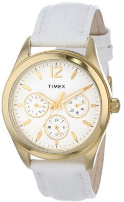 "Timex Women's T2P071KW ""Ameritus"" Watch with Leather Band $49.99 thestylecure.com"