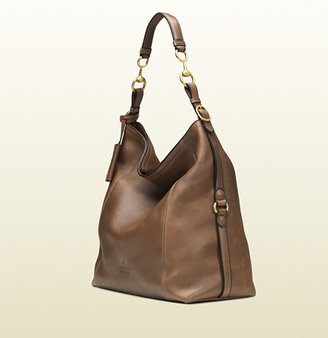 Gucci Harness Leather Hobo