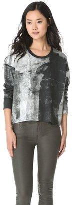 Helmut Lang HELMUT Band Print Sweatshirt