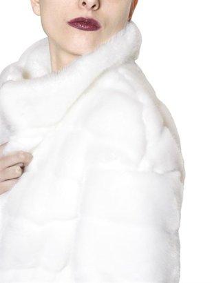 Short Eco-Fur Coat