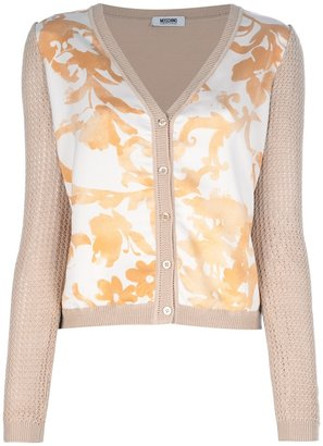 Moschino Cheap & Chic floral cardigan