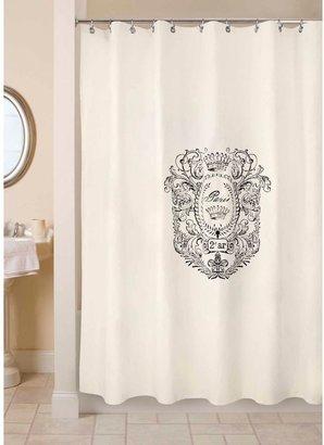 B. Smith Park Paris Postage 72-Inch x 72-Inch Shower Curtain
