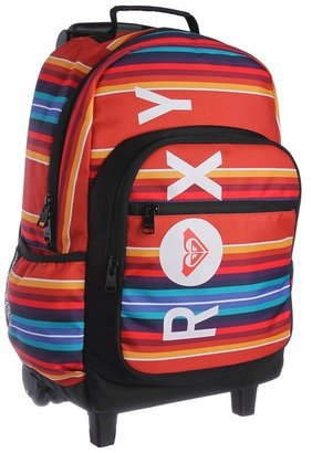 Roxy Adventure Roller Backpack (Red Clay) - Bags and Luggage