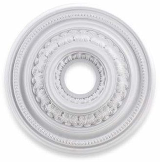 Elk Lighting ELK Lighting English Study 18-Inch Ceiling Medallion in White