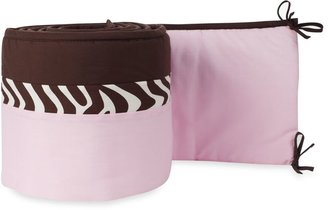 Pam Grace Creations Zara Zebra Crib Bumper