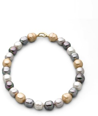 Majorica 14MM Multicolor Baroque Pearl Necklace