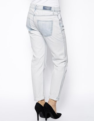 MANGO Medium Wash Boyfriend Jeans