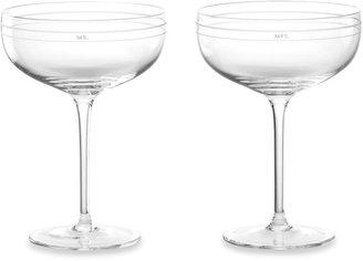 Kate Spade Darling PointTM Champagne Glasses (Set of 2)