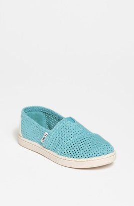 Toms 'Classic - Youth' Perforated Slip-On (Toddler, Little Kid & Big Kid)