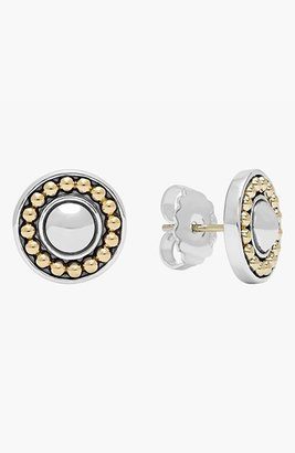 Women's Lagos 'Enso' Two-Tone Stud Earrings $395 thestylecure.com