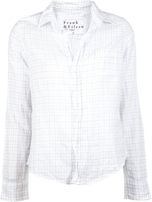 Frank & Eileen Barry button down