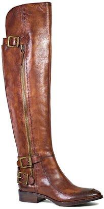 Sam Edelman Over The Knee Flat Moto Boots - Paulina