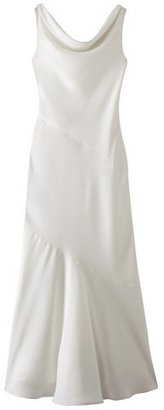 Tevolio Women's Soft Satin Cowl Neck Bridal Gown - Assorted Colors