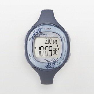 Timex watch - women's health tracker blue resin digital trainer - t5k484