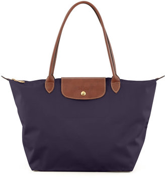 Longchamp Le Pliage Large Monogram Shoulder Tote Bag, Purple $145 thestylecure.com