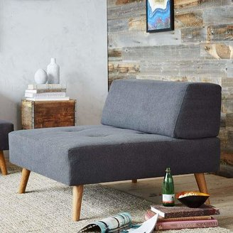 west elm Retro Tillary® Ottoman + Cushions
