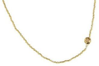 Other Designers Gold Seed Bead Chain - 26''