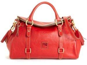 Dooney & Bourke Florentine Vaccheta Leather Satchel