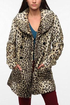 Sparkle & Fade Faux Ocelot Coat
