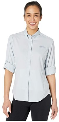 Columbia Tamiamitm II L/S Shirt (Cirrus Grey) Women's Long Sleeve Button Up