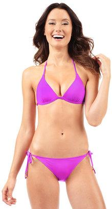 Voda Swim - Magenta String Bikini Bottom $47 thestylecure.com