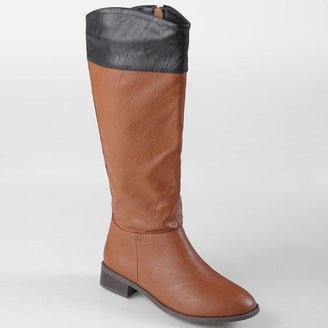 Journee Collection laura tall riding boots - women