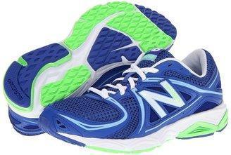 New Balance W580V3 (Blue/White) - Footwear
