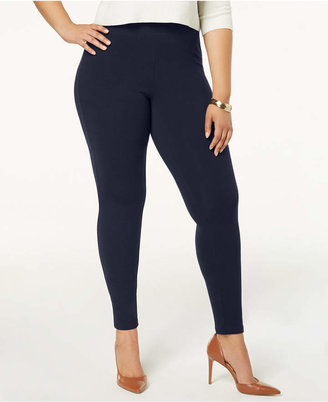 Hue Women Plus Size Cotton Leggings