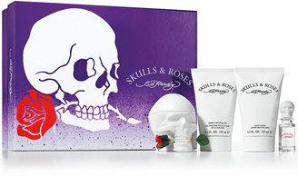 Ed Hardy Skulls & Roses for Women Gift Set