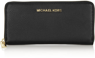 MICHAEL Michael Kors Bedford textured-leather continental wallet
