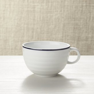Crate & Barrel Roulette Blue Band Cup