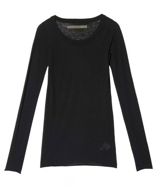 Enza Costa Long Sleeve Cashmere Crew