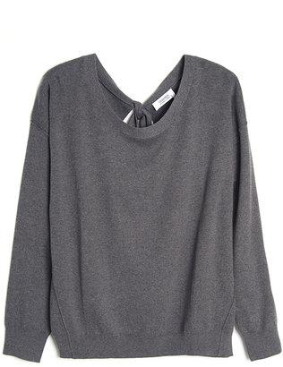 Sonia Rykiel Sonia by Open Back Sweater