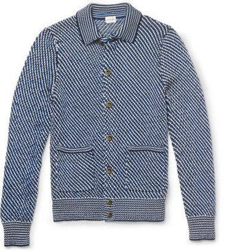 Club Monaco Tri-Color Sweater Jacket