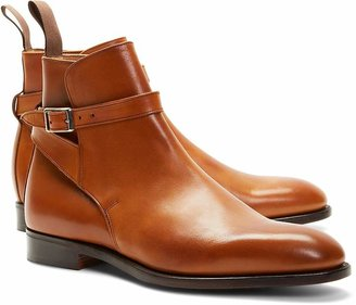 Brooks Brothers Peal & Co.® Leather Ankle Strap Buckle Boots