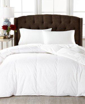 Lauren Ralph Lauren Medium Weight White Down Full/Queen Comforter, 100% Cotton Cover