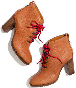 Madewell The heeled hiking boot