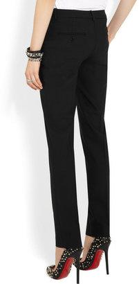 Michael Kors Samantha wool-blend slim-leg pants