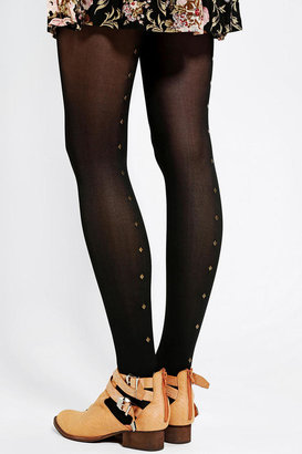 Urban Outfitters Studded Back-Seam Tight