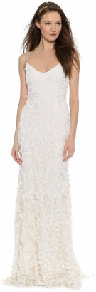 Theia Sleeveless Petal Gown $995 thestylecure.com