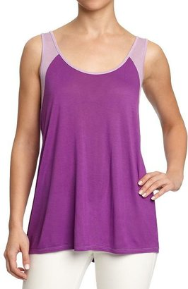 Old Navy Women's Color-Blocked Jersey Tanks