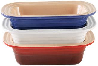 Le Creuset Stoneware Loaf Pan, 1-1/4 quart