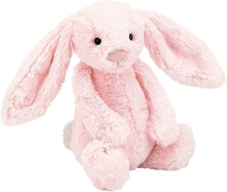 Jellycat Bashful Pink Bunny Soft Toy, Medium, Pink