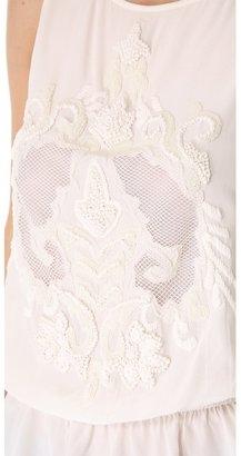 Juicy Couture Rococo Silk Top